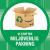 Link til Vi støtter miljøvenlig pakning