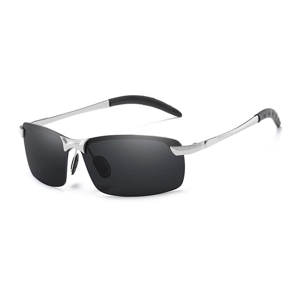 #S2 Polaroid solbriller med alu stel