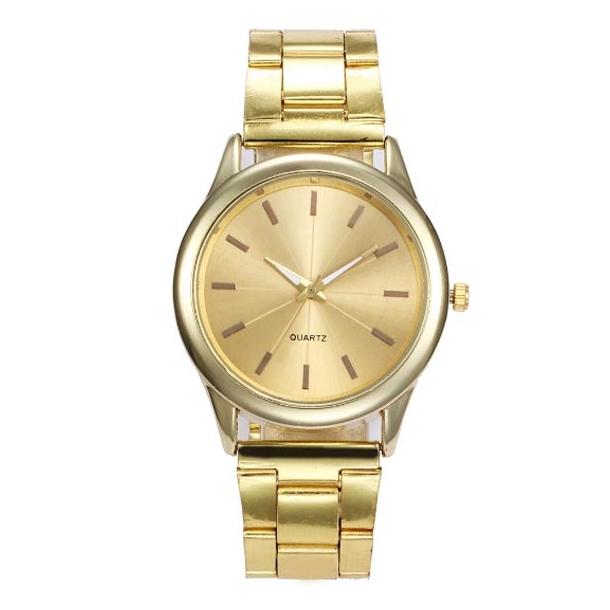 #481 Lækkert rundt gyldent Dress-ur
