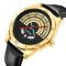 #344 Lækkert ur med alternativ tidsvisning - med dato