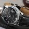 #291 Stilrent og klassisk ur med sort urskive og datovisning
