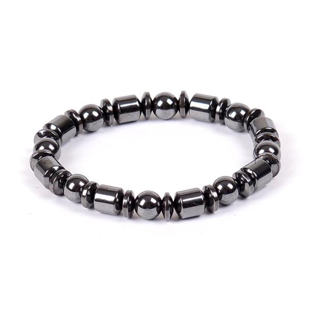 #411 Stilrent magnet herre magnet armbånd - style 4