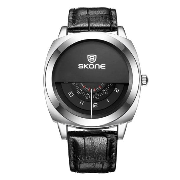 #27 Lækkert stilrent unikt herrearmbåndsur