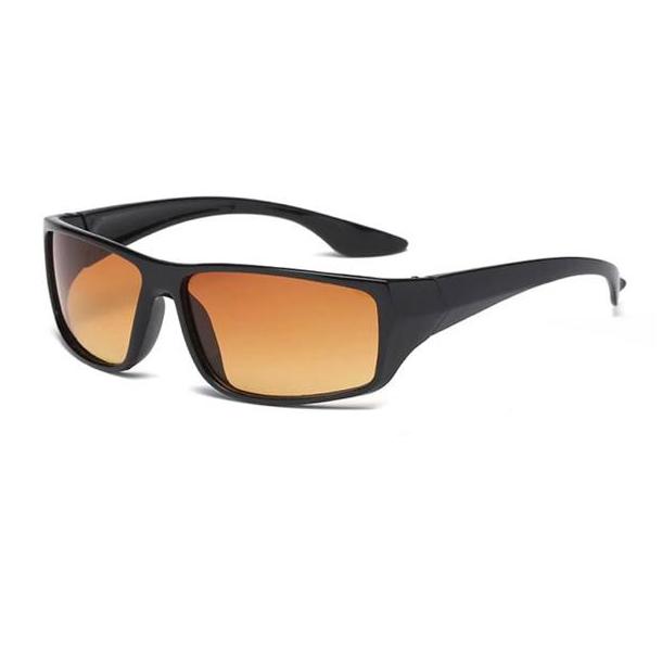 #S11 Smart kørebrille med UV400 filter og anti refleksion - night vision - orange glas
