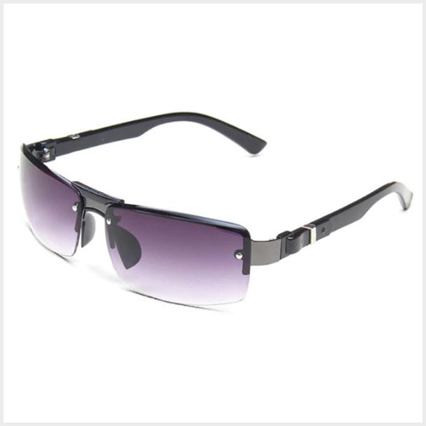 #S37 Lækker dame solbrille med UV 400 filter - Grå