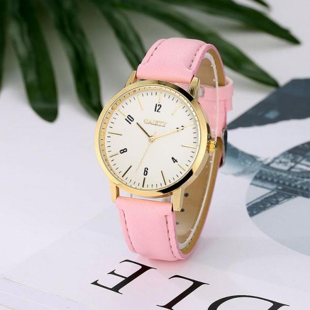 #58 Lyserødt dame ur