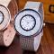 #267 Lækkert quicksand ur med MESH rem og hus