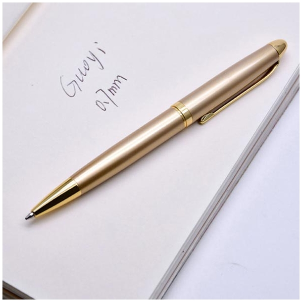 #311 Lækker gylden kuglepen