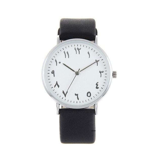 #414 Lækkert armbåndsur med arabiske tal