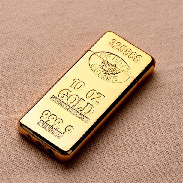 #517 Gaslighter - guldbarre - genopfyldelig