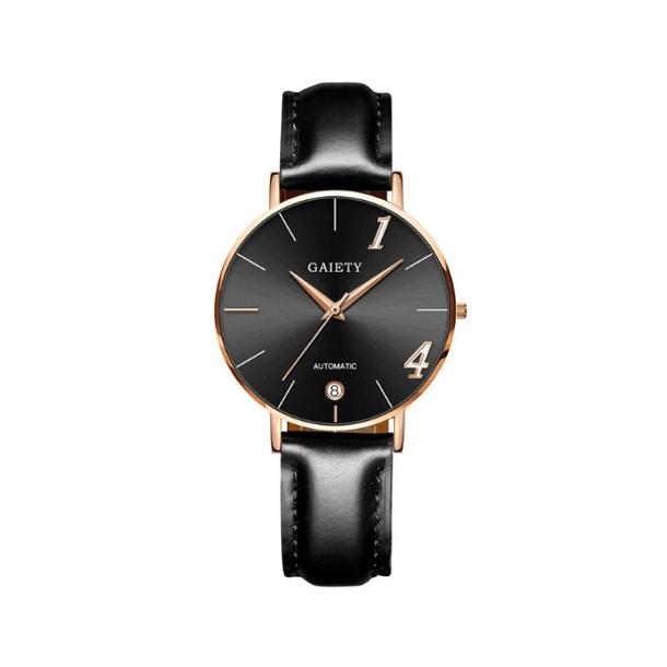 #421 Lækkert Dress-ur med sort skive og datovisning