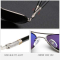 #S20 Cool pilot solbrille med stål kanter, polaroid-glas og UV 400 filter