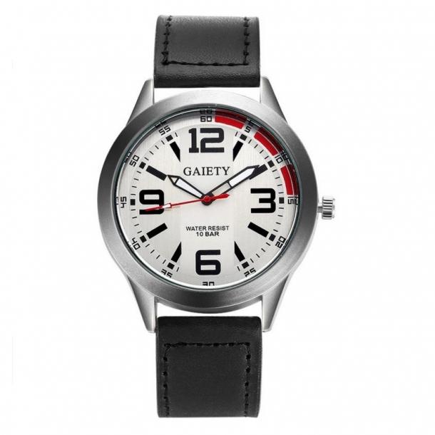 9b34f56e010 118 Stilrent armbåndsur med lækker skive - Billige Herre Dress-ure ...