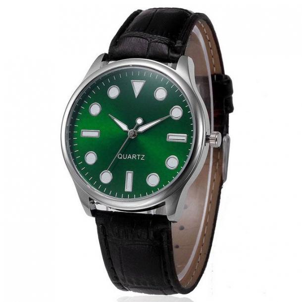 #126 Grøn cool retro armbåndsur