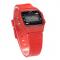 #195 Retro LCD ur - rød