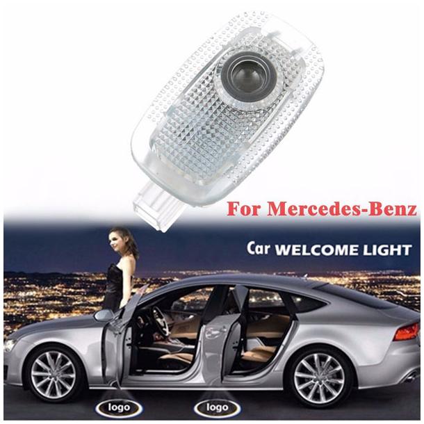 #999 Mercedes LOGO til Dørene på en S320